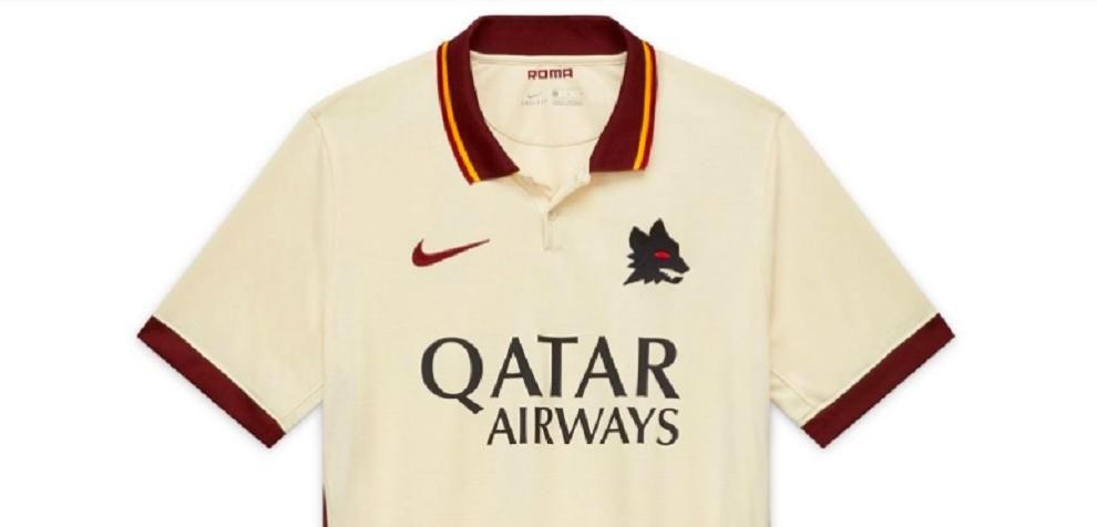 Roma, ufficiale la seconda maglia 2020-21 col lupetto di Gratton ...