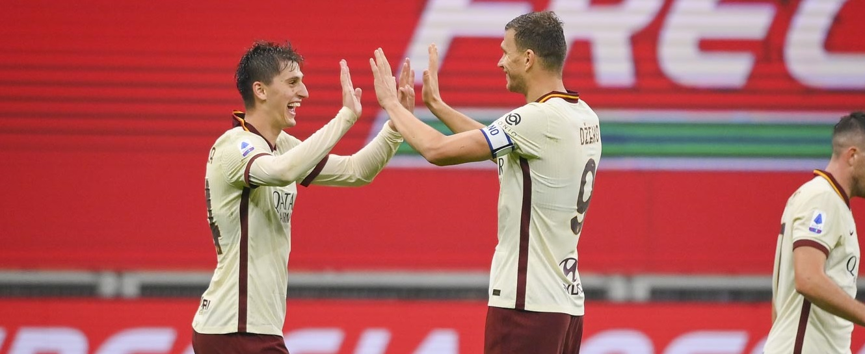 Dzeko e Kumbulla ancora a segno: finisce 3-3