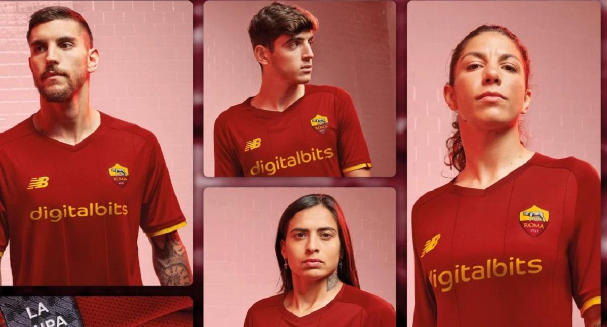 UFFICIALE: svelata la nuova maglia della Roma per la stagione 2021 ...